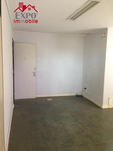 sala  comercial para locação, cambuí, campinas. - sa0024