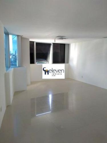 sala comercial para locação caminho das arvores salvador com 50 m², 3 vagas. - sa00078 - 32701940