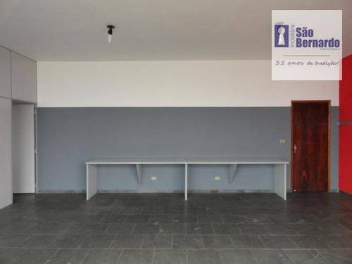 sala  comercial para locação, cechino, americana. - sa0112
