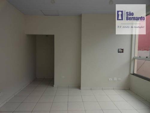 sala  comercial para locação, centro, americana. - sa0106