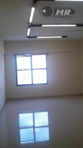 sala comercial para locação, centro, campinas. - sa0017