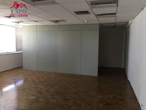 sala  comercial para locação, centro, campinas. - sa0084