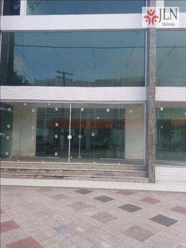 sala comercial para locação, centro, mongaguá. - lo0006