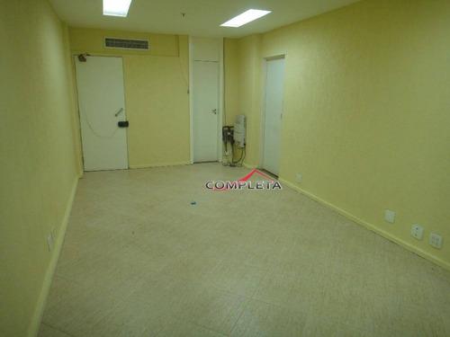 sala comercial para locação, centro, rio de janeiro. - sa0083