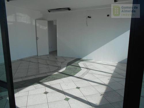 sala comercial para locação, centro, santo andré. - codigo: sa0192 - sa0192