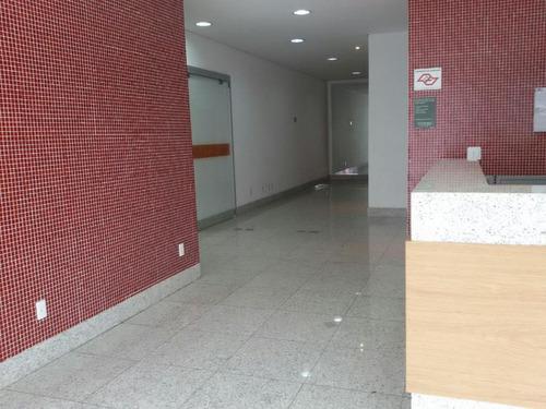 sala  comercial para locação, centro, santo andré. - sa0190