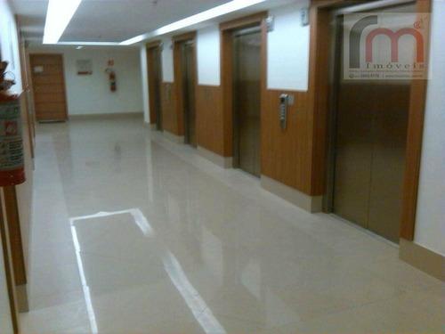 sala  comercial para locação, centro, santos. - codigo: sa0184 - sa0184