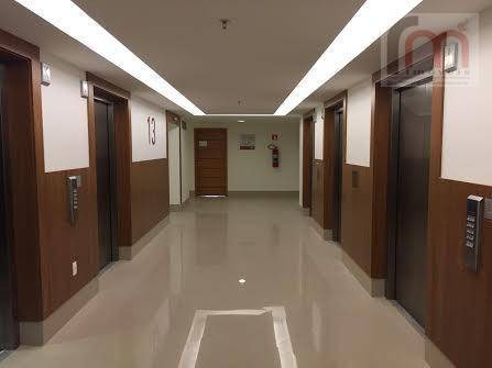sala  comercial para locação, centro, santos. - codigo: sa0208 - sa0208