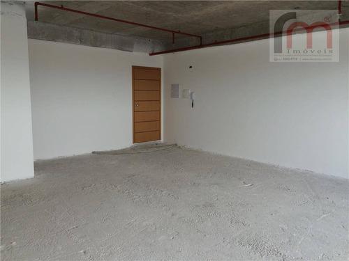 sala comercial para locação, centro, santos - sa0002. - sa0002