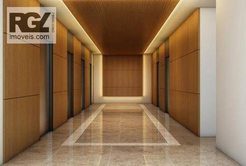 sala comercial para locação, centro, santos. - sa0042