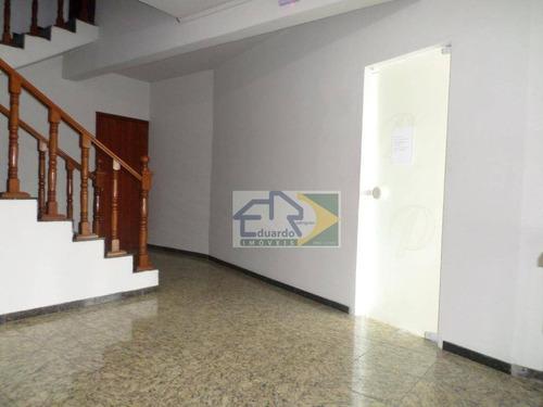 sala comercial para locação, centro, suzano. - sa0021