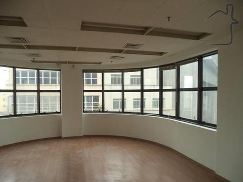 sala comercial para locação com 188 metros na república - sa00027 - 34057846