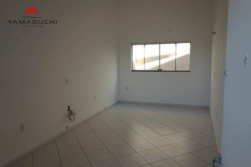 sala comercial para locação, com 22 m², no bairro jardim vista alegre, paulínia. - codigo: sa0010 - sa0010