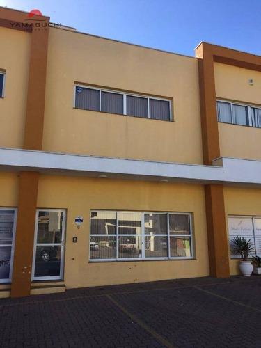 sala comercial para locação, com 87,84 m², no parque brasil 500, paulínia. - codigo: sa0008 - sa0008
