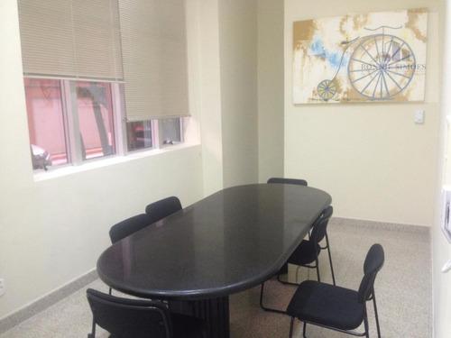 sala comercial, para locação em moema, 32 m², av. rouxinol, 1041, edifício montreal - são paulo/sp - sa0263