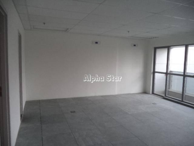sala comercial para locação, empresarial 18 do forte, barueri. - sa0088