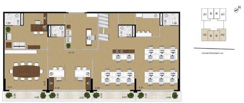 sala comercial para locação, gonzaga, santos - cj0005. - codigo: sa0261 - sa0261