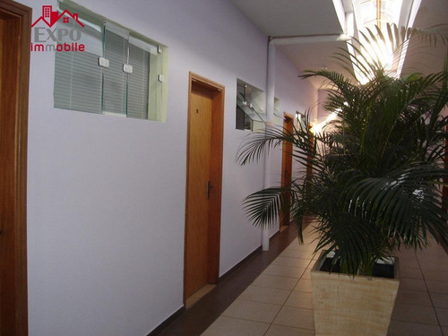 sala  comercial para locação, jardim santa genebra, campinas. - sa0052