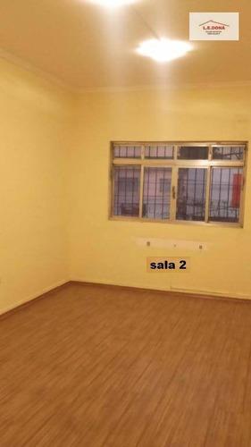 sala comercial para locação, km 18, osasco. - sa0055