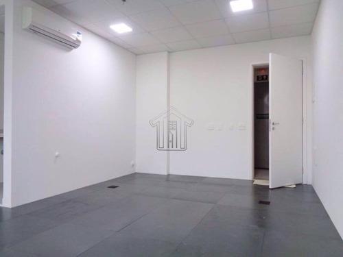 sala comercial para locação no bairro jardim. 32 metros 1 vaga. - 8957gigantte