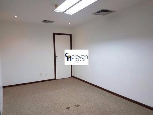 sala comercial para locação stiep, salvador, 7 salas, r$ 6.000,00, 1 copa, 3 banheiros, 8 vagas, 200 m². - tba0228 - 4478172