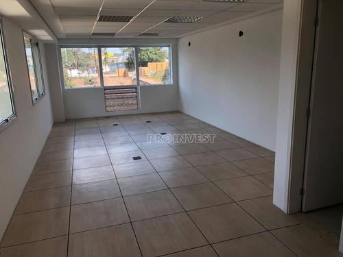 sala comercial para locação, the square granja viana, cotia - sa0543. - sa0543