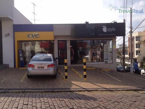 sala comercial para locação, vila clayton, valinhos. - sa0149