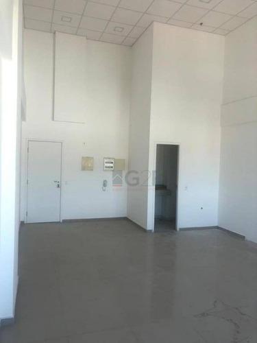 sala comercial para locação, vila itapura, campinas. - sa0206