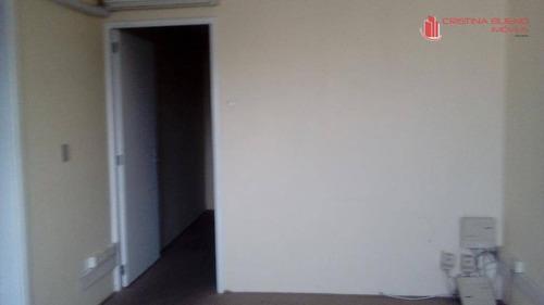 sala comercial para locação, vila monte alegre, são paulo - sa0055. - sa0055