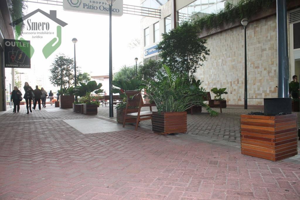 sala  comercial para locação, vila yara, osasco. - sa0009