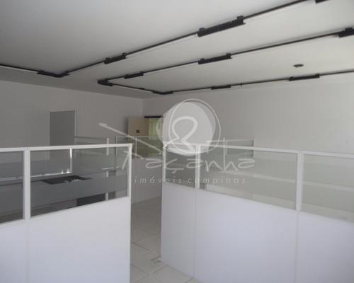 sala comercial para venda av. barão de itapura em campinas - sa00109 - 4718132