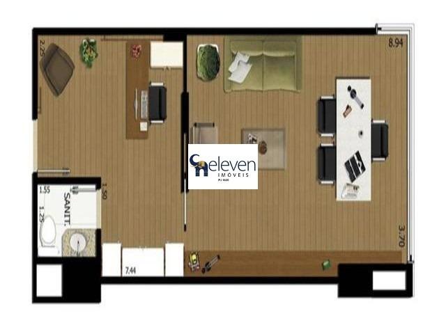sala comercial para venda caminho das arvores, salvador com 33 m², 1 vaga. - sa00084 - 32724959