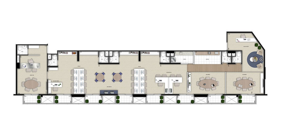 sala comercial para venda, chácara califórnia, são paulo - sa2333. - sa2333