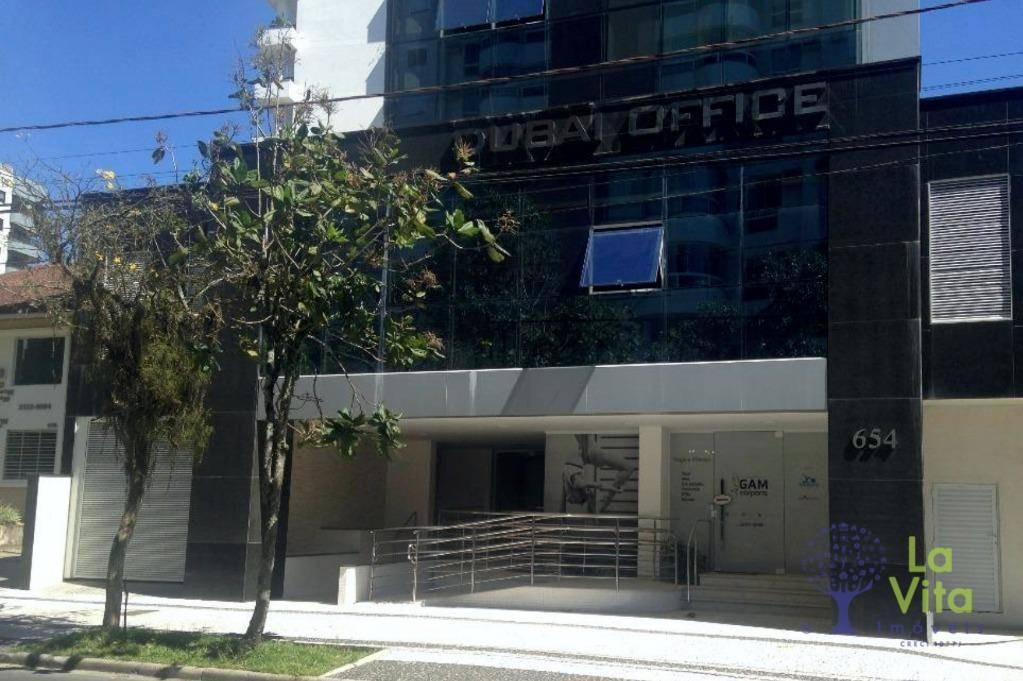 sala comercial para venda e alugar locação, jardim blumenau, blumenau. edifício dubai office - sa0044