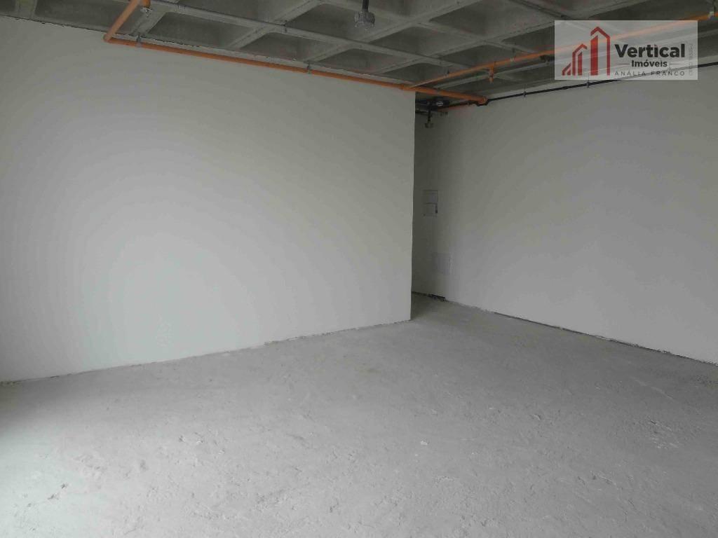 sala comercial para venda e locação, anália franco, são paulo. - sa0462
