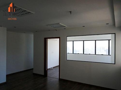 sala comercial para venda e locação, centro, santo andré. - sa0435