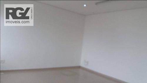 sala comercial para venda e locação, encruzilhada, santos. - sa0182