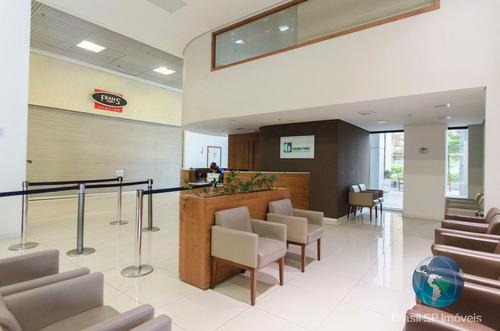 sala comercial para venda e locação no edifício medical center campo belo - pronta para uso. - br1136