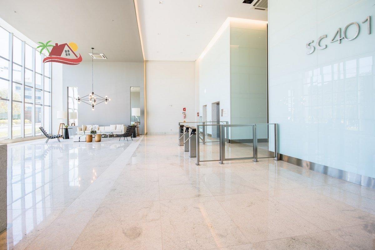 sala comercial para venda em florianópolis, cacupé, 1 banheiro, 1 vaga - sl17_1-1410733
