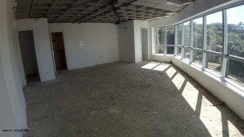 sala comercial para venda em salvador, pituba, 2 banheiros, 2 vagas - lr0345