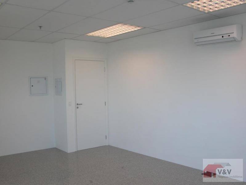 sala comercial para venda em são paulo, brooklin, 1 banheiro, 1 vaga - brkl859