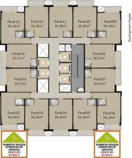 sala comercial para venda em são paulo, vila carrão, 1 banheiro, 1 vaga - 00247_1-573345