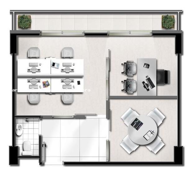 sala comercial para venda em são paulo, vila olimpia, 1 banheiro, 1 vaga - 1632_2-241458
