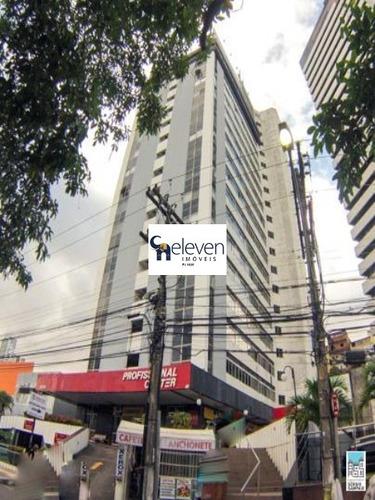 sala comercial para venda pituba, salvador 2 vagas, 27 m², valor do condominio r$ 590,00, valor da venda r$ 98.000,00 - sa00098 - 32848979