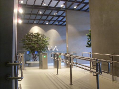 sala comercial santo andré, 66m², pronta,2 banheiros, r$2mi