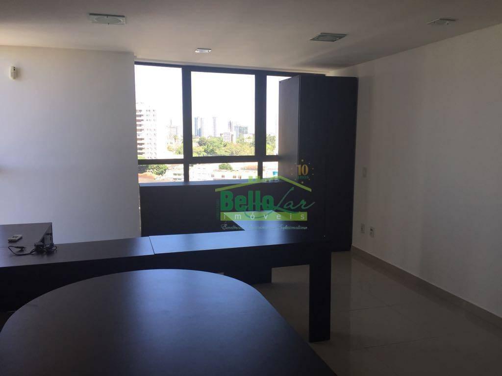sala comercial semi-mobiliada para locação, boa vista, recife. - sa0044