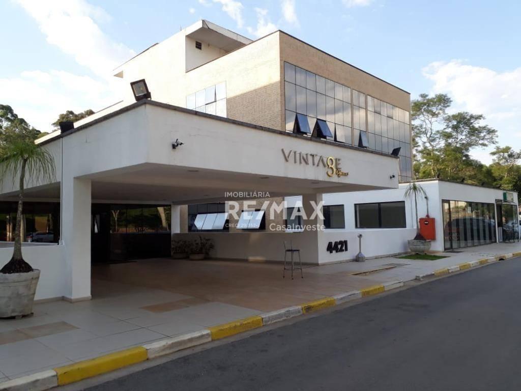 sala comercial à venda, 35 m² por r$ 142.000 - vintage offices - cotia/sp - sa0004