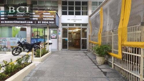 sala comercial à venda, boa vista, recife. - sa0038