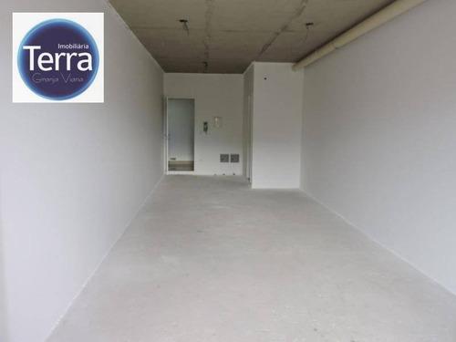 sala comercial à venda, vianna espaços modulares, granja viana. - sa0027
