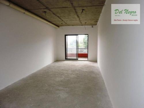 sala comercial à venda, vianna espaços modulares, granja viana. - sa0054